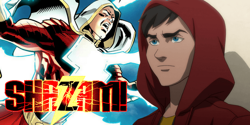 Como Shazam recebeu seus poderes?