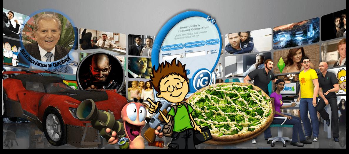 Nerd, Crente, Pizza de Vegetais, Internet Discada e Piada Ruim