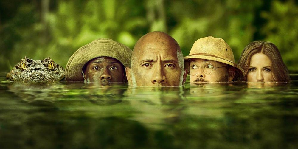 Jumanji 2 | The Rock anuncia a data de estreia da sequência