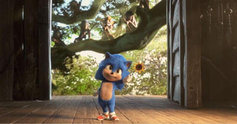 Baby Sonic é revelado em nova cena deletada