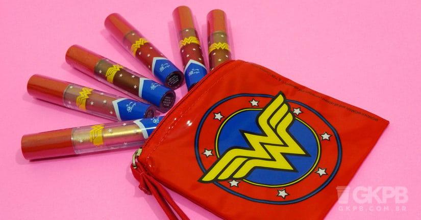 Wonder Woman | TBlogs lança mais uma coleção de batons
