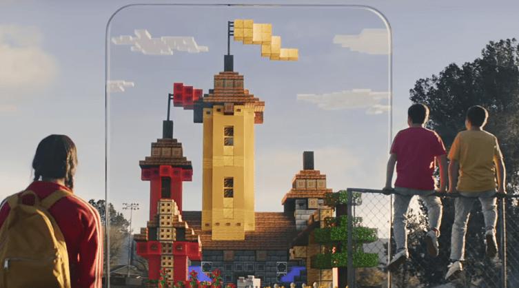 Microsoft mostra a jogabilidade do Minecraft Earth durante o evento da Apple