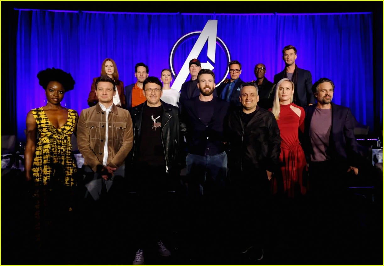 Atores de Vingadores: Ultimato participam de coletiva de imprensa em Los Angeles
