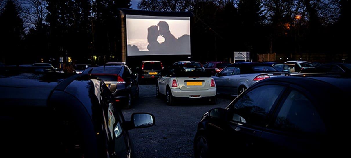 Bilheteria americana veio completamente de Cinemas Drive-In