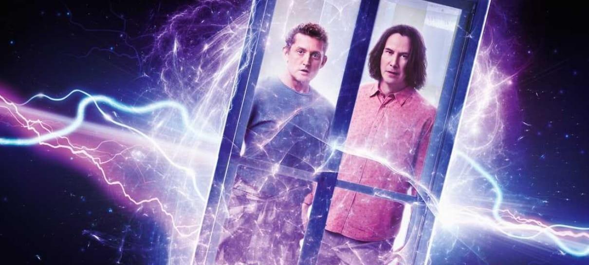 Bill & Ted: Encare a Música | Keanu Reeves e Alex Winter na capa da Total Film