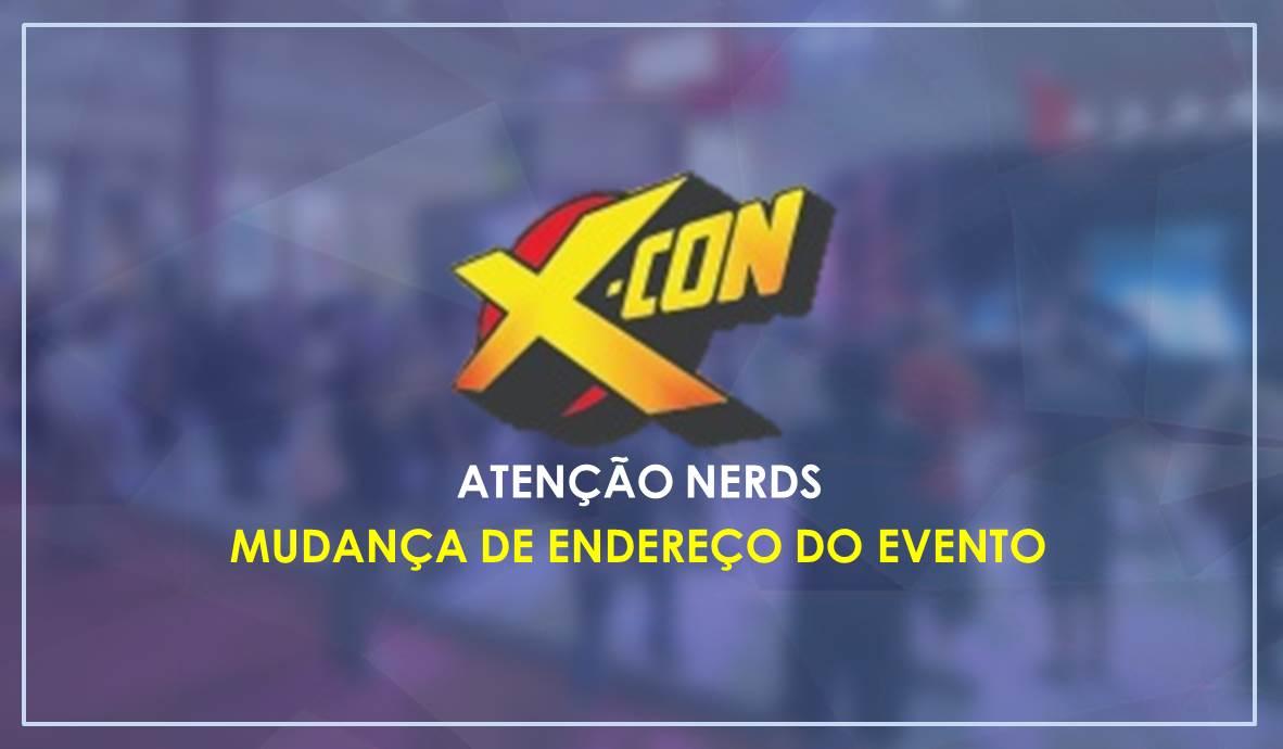 X-CON 2019   Evento tem mudança de local para facilitar acesso aos visitantes
