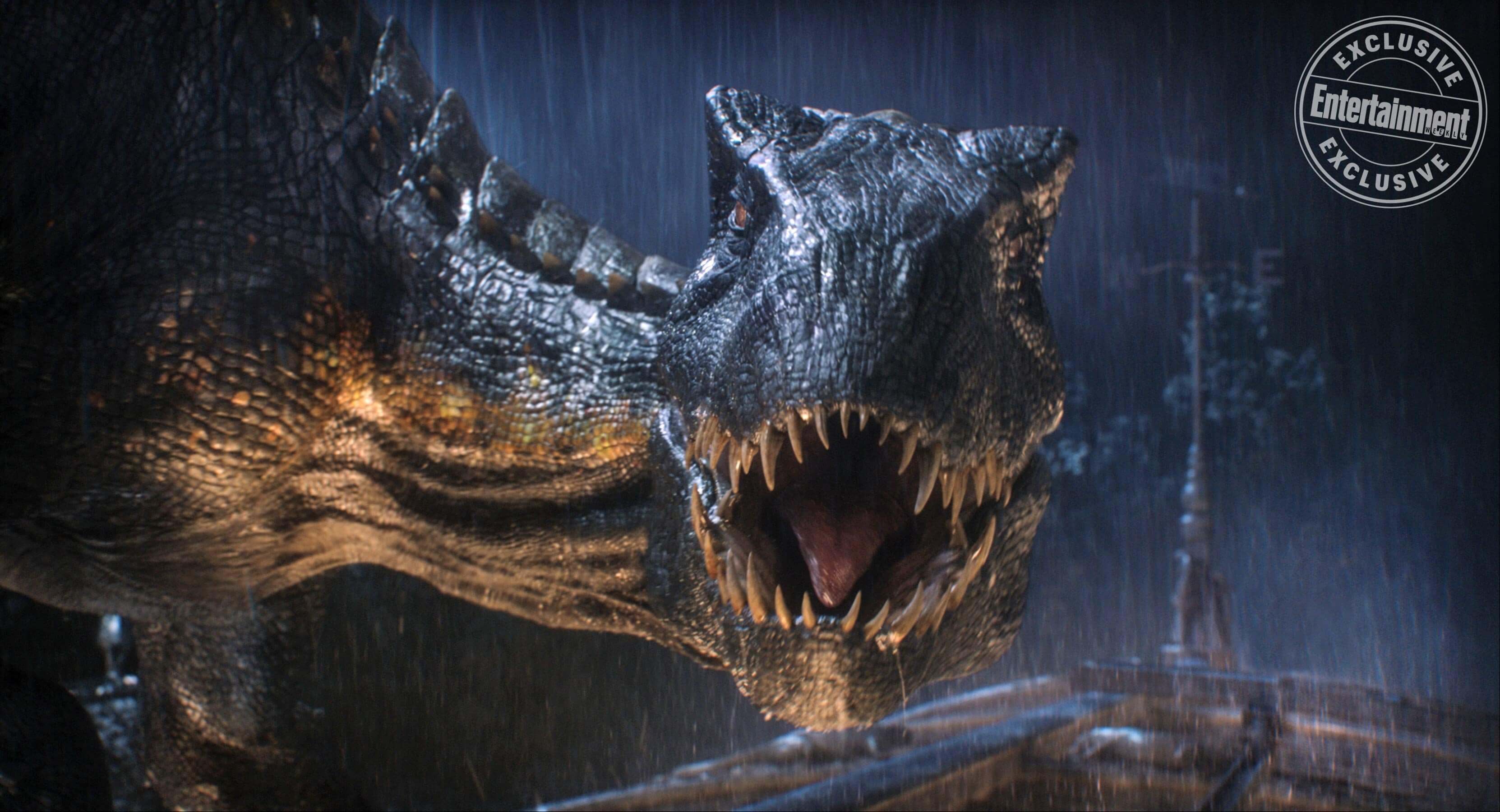 Jurassic World: Reino Ameaçado | Chris Pratt aparece com dinossauro em nova capa