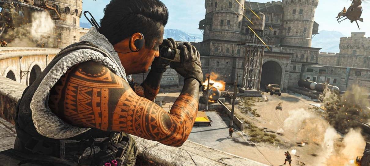 Call of Duty Warzone teve atualização de 84 GB para alguns jogadores
