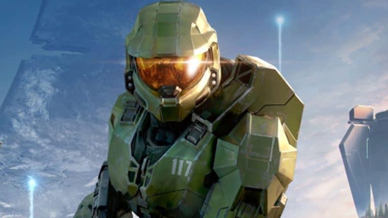 Capa de Halo Infinite faz referência ao primeiro Halo