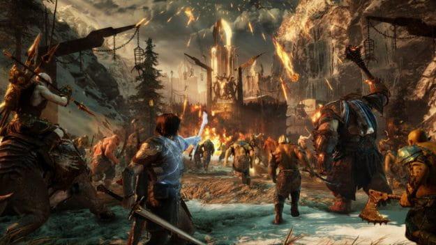 Novo trailer de Middle-Earth: Shadow of War mostra a beleza do jogo.