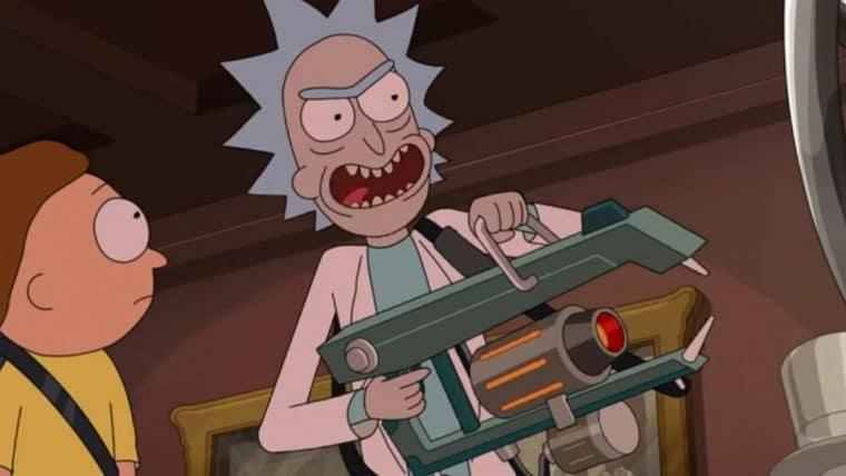Cena de Rick and Morty mostra tentativa de roubo da constituição americana