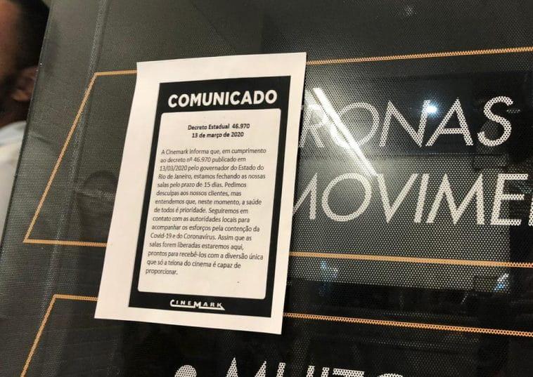 Cinemark oferece plano de demissão voluntária no RJ