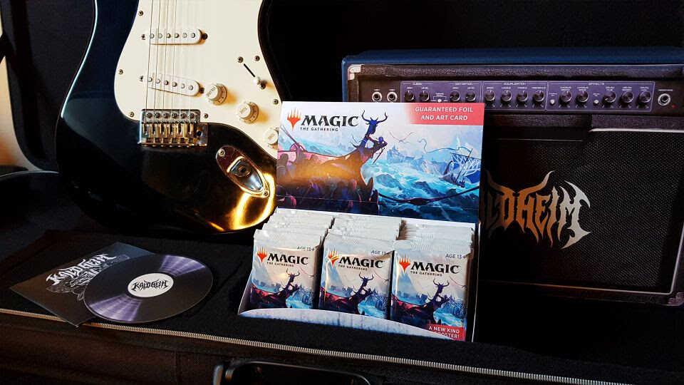 Coleção Kaldheim chega à versão física de Magic