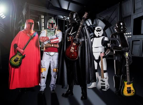 Conheça Galactic Empire, a banda mais Sombria da Galáxia