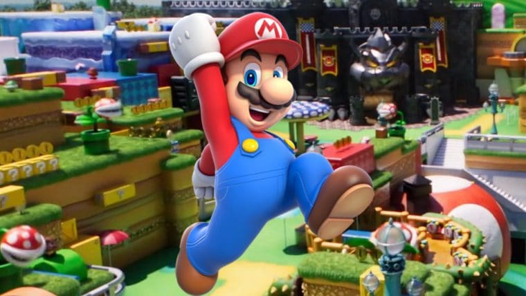Conheça o Super Nintendo World em um tour virtual