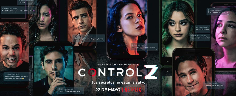 Control Z | Nova série da Netflix ganha trailer com Hacker expondo segredos de alunos