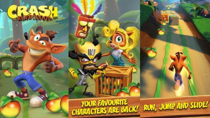 Crash Bandicoot vai ganhar versão mobile