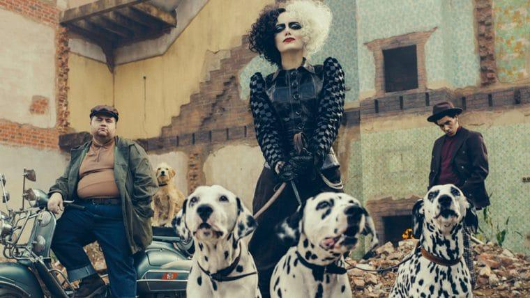 Cruella | Novo longa da vilã com Emma Stone tem primeira imagem divulgada