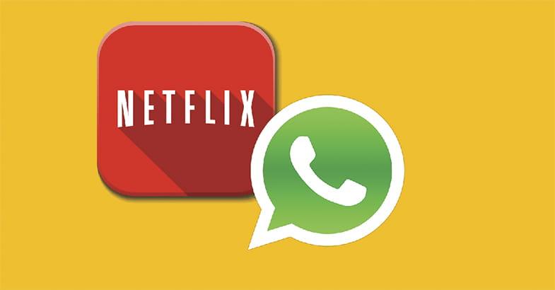 Netflix e Whatsapp testam recursos de recomendações