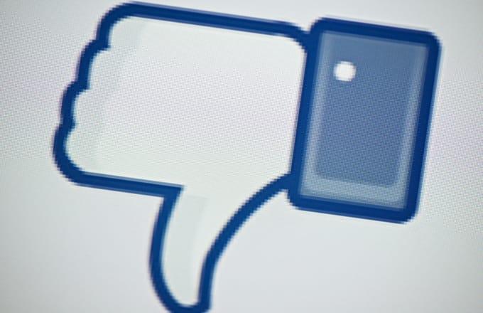 Facebook testa botão Não Curtir em sua plataforma
