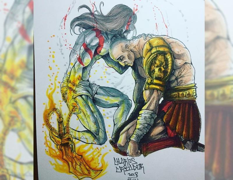 Kratos e a maldição do passado