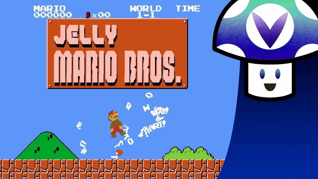 Jelly Mario Bros | Jogue com um Mário de geléia?