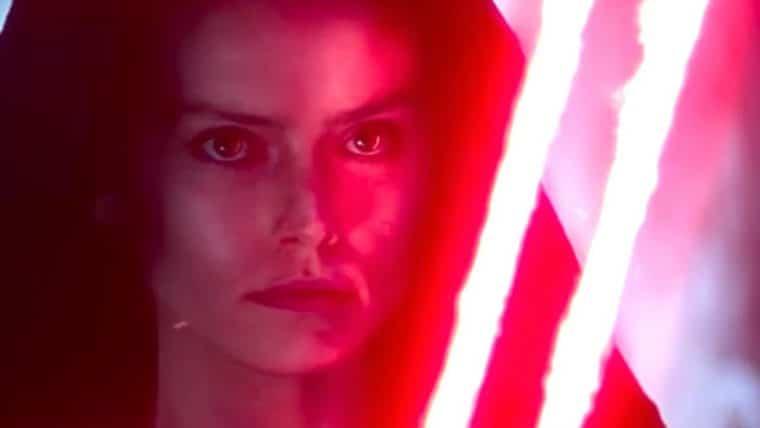 Daisy Ridley comenta sobre Rey indo para o lado negro da força