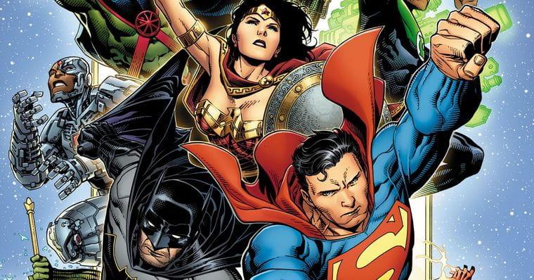 DC Divulga imagem com a nova Liga da Justiça