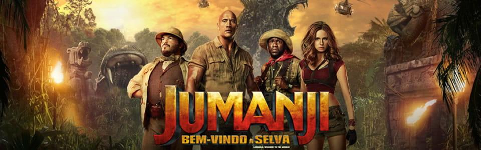 Jumanji Bem Vindo a Selva vai ganhar sequência