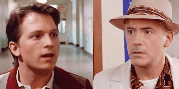 Deepfake coloca Robert Downey Jr e Tom Holland como personagens do primeiro De Volta para o Futuro