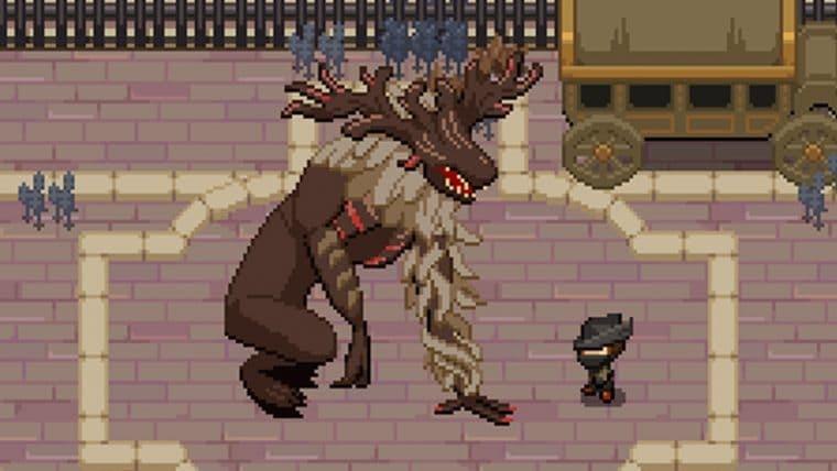 Desenvolvedor recria Bloodborne em 16-bits