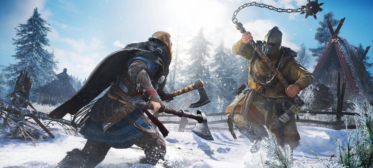 Diretor afirma que Assassin's Creed Valhalla não será como God of War