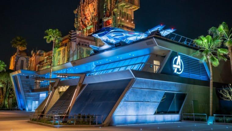 Disney Califórnia anuncia Avengers Campus, uma área com atrações focadas nos Vingadores