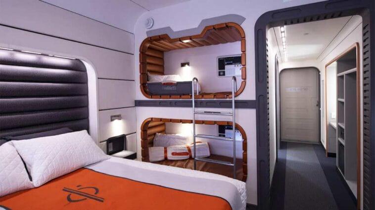Disney divulga imagens das cabines do Star Wars Hotel