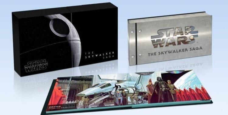 Disney lança box Star Wars: A Saga Skywalker, edição limitada com itens exclusivos