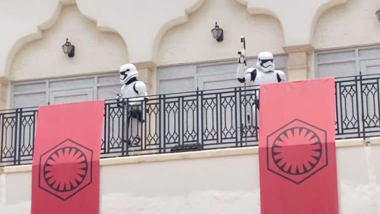 Disney Springs usa Stormtroppers como incentivo para o distanciamento social