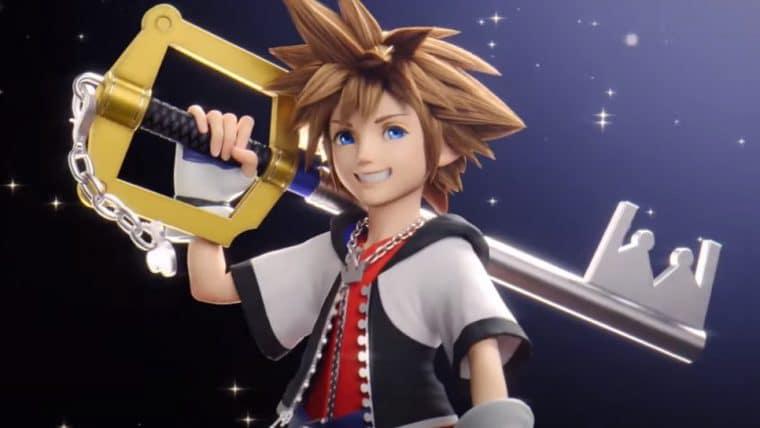 DLC de Super Smash Bros. Ultimate recebe Sora, de Kingdom Hearts