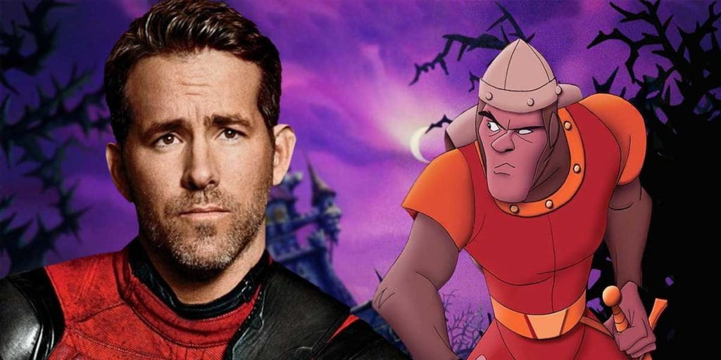 Dragon's Lair | Netflix negocia com Ryan Reynolds sobre adaptação do game