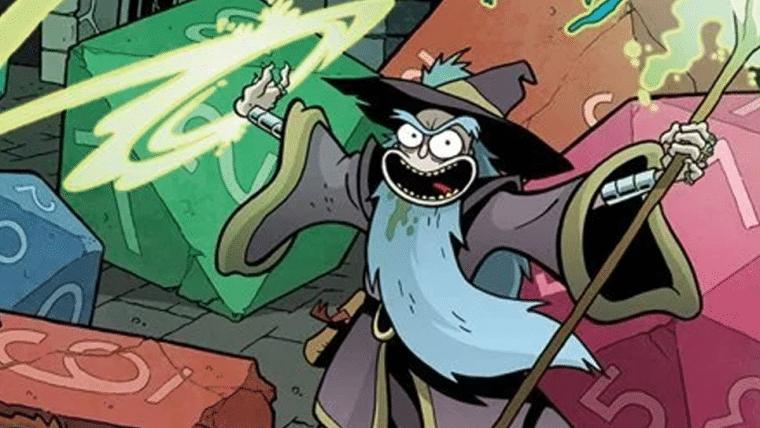 Dungeons & Dragons terá uma campanha do crossover com Rick and Morty