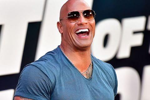 Dwayne The Rock Johnson é o ator mais bem pago do mundo