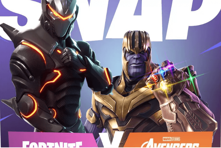 Fortnite Battle Royale e Avengers: Infinity War se juntam para um evento especial