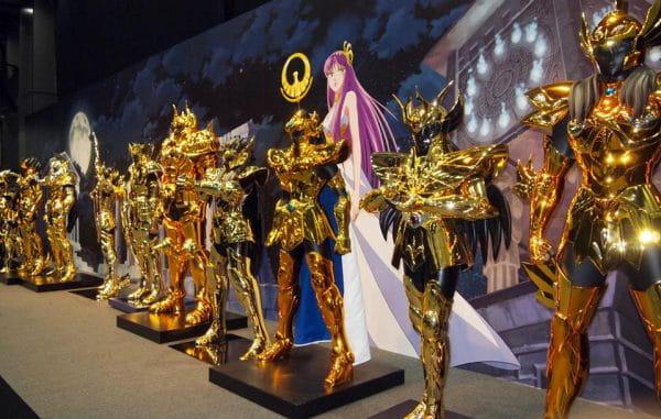 CCXP 2016 vai trazer as 12 armaduras de ouro dos Cavaleiros do Zodíaco