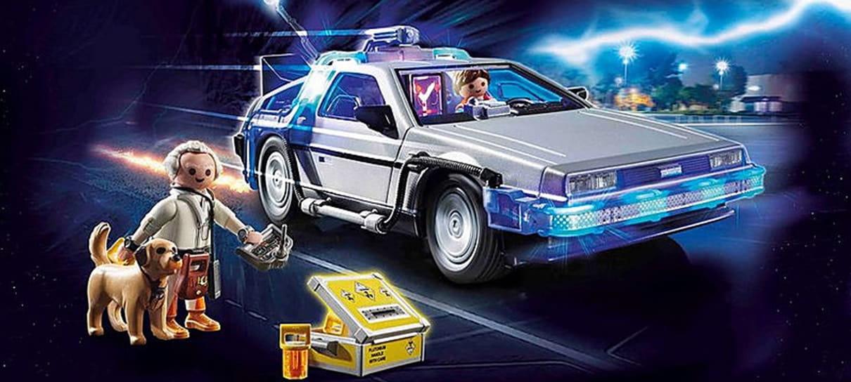 Em comemoração aos 35 anos, De Volta para o Futuro ganha linha de Playmobil
