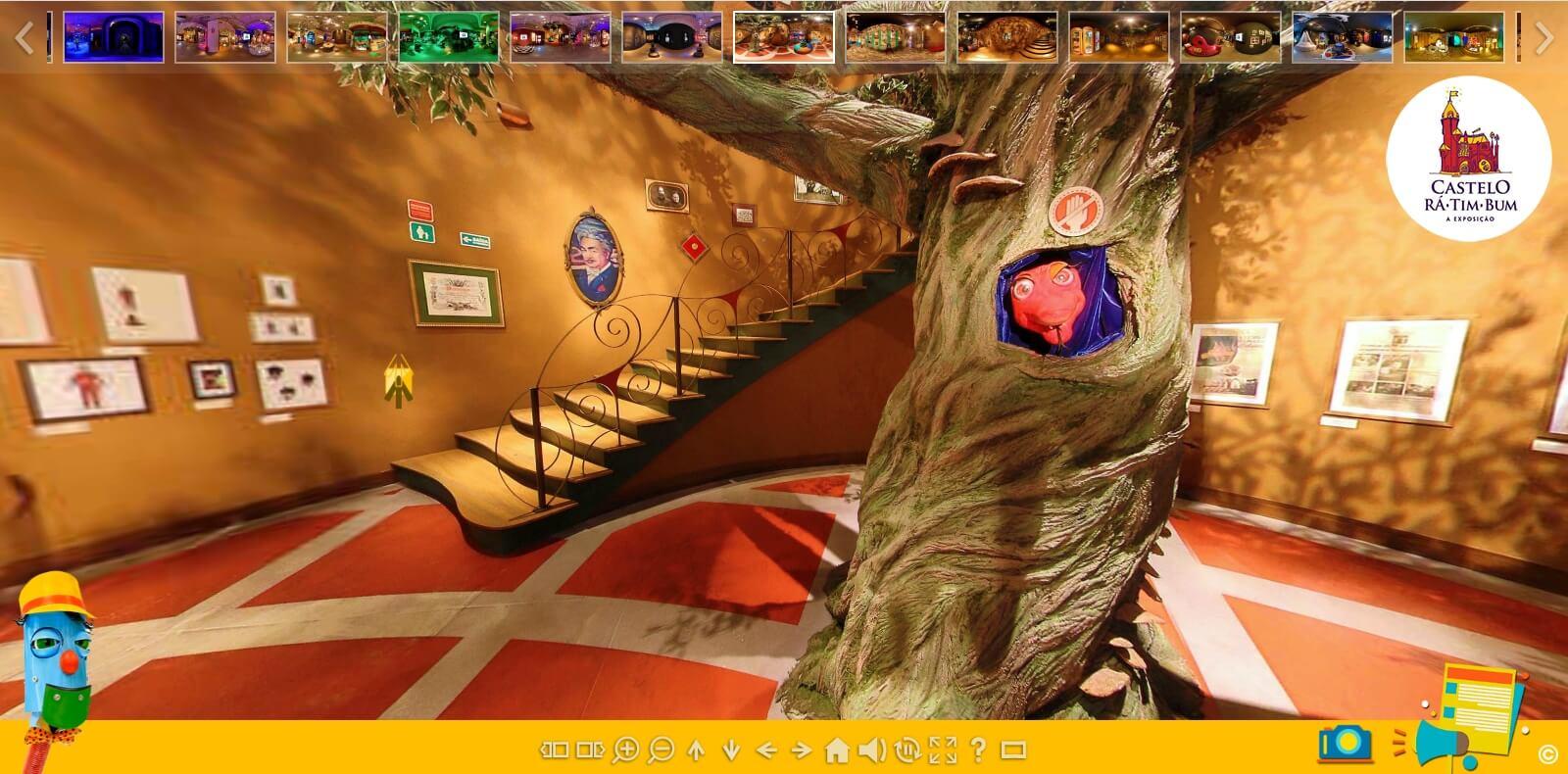 Exposição Castelo Rá-Tim-Bum ganha versão online e interativa