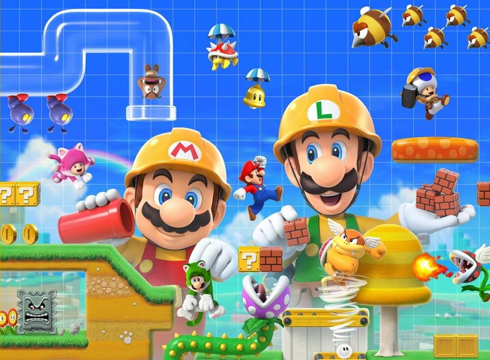 Super Mario Maker 2 jogadores não podem jogar com amigos online