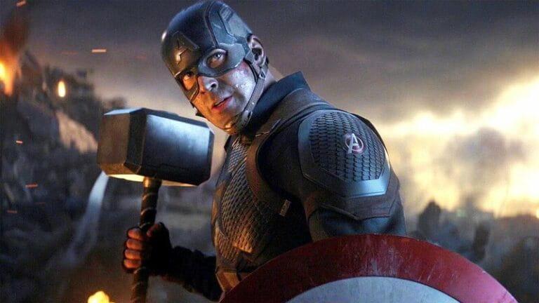 Fã recria a icônica cena do Capitão América em Vingadores Ultimato em quadrinhos retrô