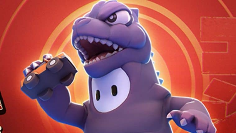 Fall Guys | Game terá skin do Godzilla
