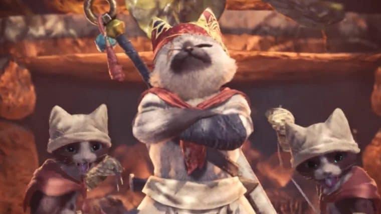 Filme de Monster Hunter terá ilustre personagem do jogo