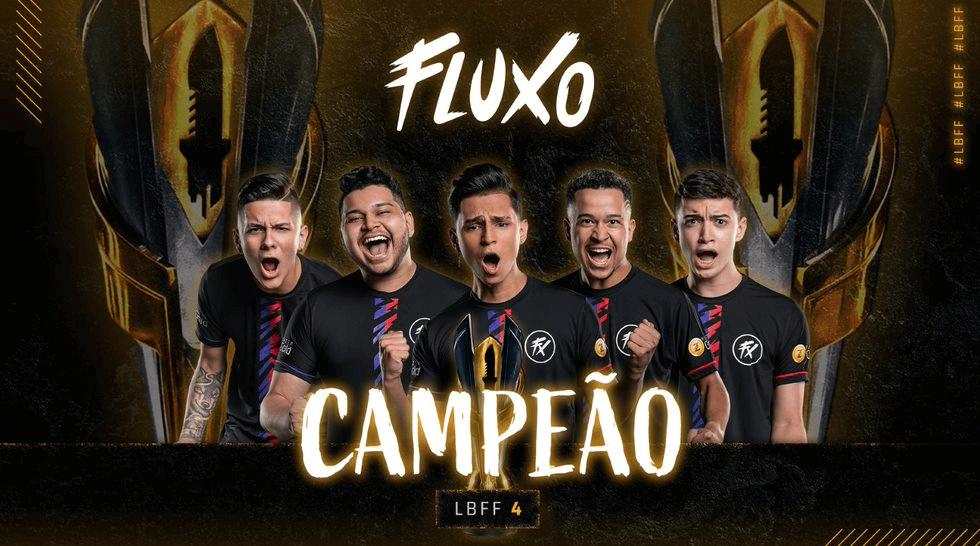 Fluxo leva a melhor na Liga Brasileira de Free Fire 4
