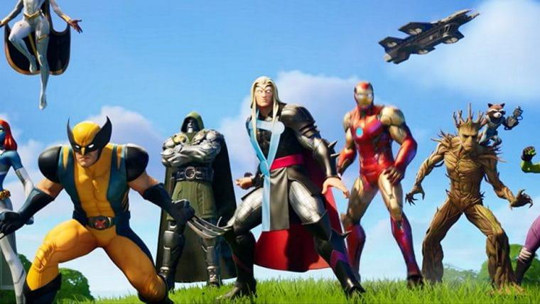 Fortnite | Temporada 4 terá adição de vários heróis da Marvel